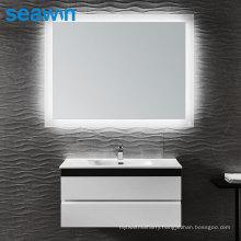 Seawin Waterproof Illuminated Rectangular Wall Mounted Bathroom Light Led Backlit Mirror
