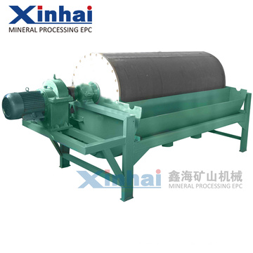 Máquina magnética permanente del separador del tambor seco del mineral fino, introducción mineral del equipo del equipo