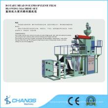 Sjpp-75/800 Conjunto de máquina sopladora de película de polipropileno de cabeza rotativa