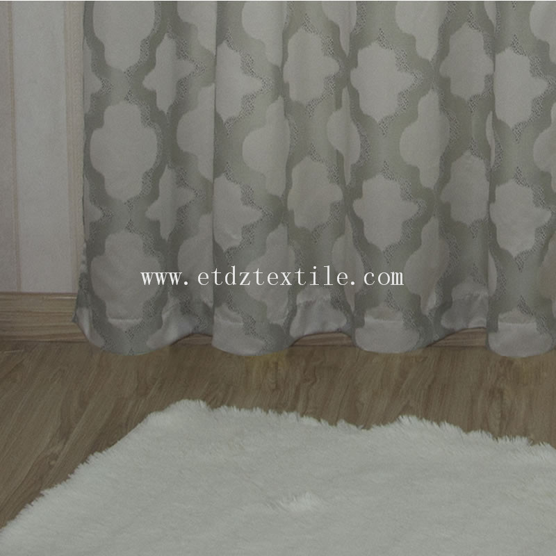 New Soft Textile Polyester Yarn Dyed Window Curtain Fabric