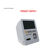 Aan de muur bevestigde Self Cashless Bitcoin Machine Kiosk