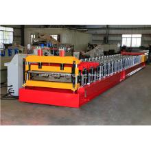 Decking Sheet Floor Steel Profile Máquina formadora de rollos