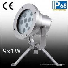 Подводный прожектор СИД IP68 9W (JP95591)