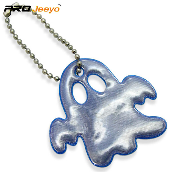 Red PVC Ghost Shape Pendant RV-210 5 blue