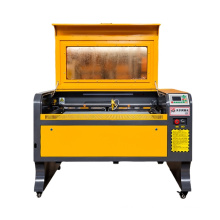 CNC laser engraver/CO2 laser cutter and engraving cutting machine for Non-metal wood fabric leather glass bottle with rotary