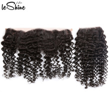 360 Lace Frontal Closure Grade 9a Virgin Hair Afro Kinky Curly Hair Extension