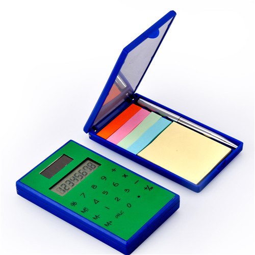 Touch Screen Calculator with Sticky Note