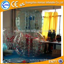 Points de couleur personnalisés à bulles de football, PVC / TPU bulle de bulle / bulle de bulle