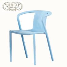 Chaise de loisir en plastique pour chaise de salle à manger