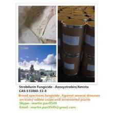 Buena calidad, fungicida popular, Azoxystrobin / Amista 98% TC, CAS 131860-33-8