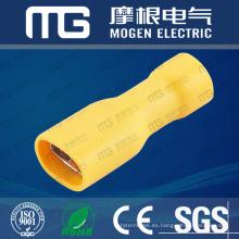 FDFD 22-16 Conector de cable de cobre macho hembra completamente aislado eléctrico