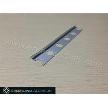 Matt Silver Aluminum Straight Flooring Trim
