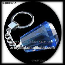 Llavero de cristal en blanco K9 para grabado láser en 3D