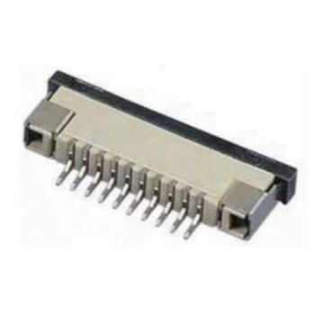 1.0MM FPC-connector Verticale dip Type ZIF