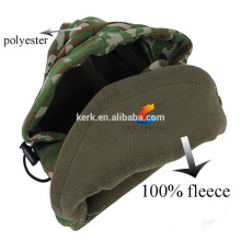 Double layer thermal winter hat fleece balaclava
