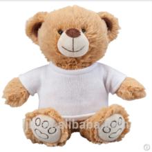 Maßgeschneiderte Plüschtiere benutzerdefinierte gefüllte Tiere plain Teddybär