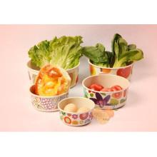 (BC-B1044) Hot-Sell Natural Bamboo Fiber Tableware Bowl Set