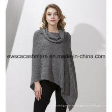 Women′s Solid Color Pure Cashmere Shawl