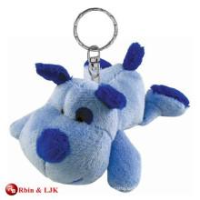 Kundengebundener Soem-Entwurfs-Plüschhund keychain Spielzeug