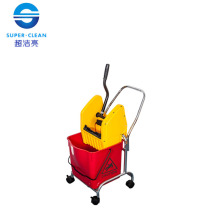 Down-Press Single Mop Wringer Trolley (B-044)