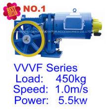 YJF120WL-VVVF Villa PASSENGER Elevator Motor Traction Machine