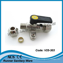 Compact Wall Gas Valve for Copper Pipe (V25-303)