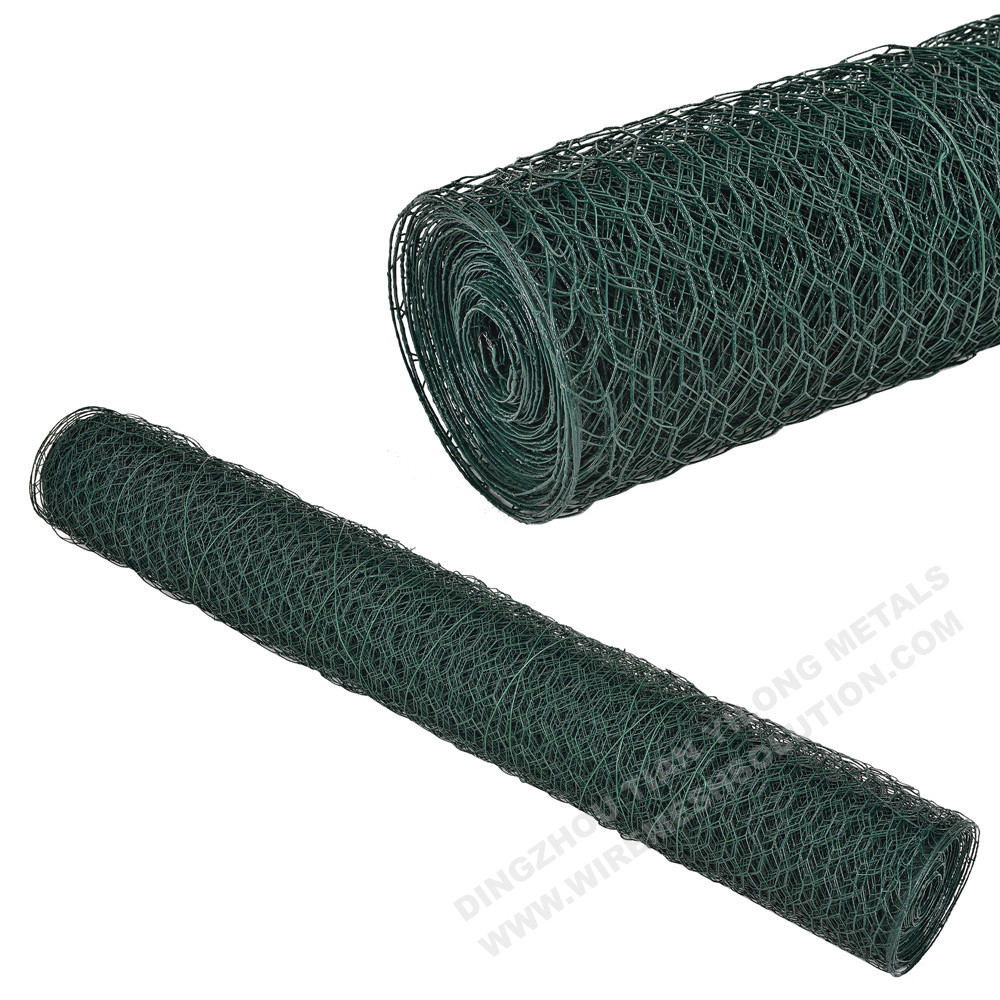 Plastic Coated Hexagonal Wire Mesh
