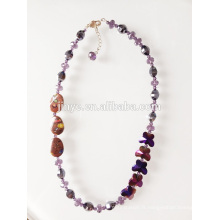 Collier de perles papillon cristal Fashion