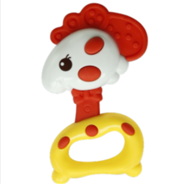 Chick Shape Baby Safety Music Toy Bell Ring