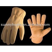 Sunnyhope Kuh Korn Leder Fahrer Handschuh, Handschuhe Leder Handschuhe