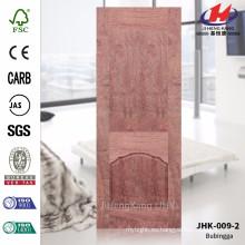JHK-009-2 Venta caliente buena hoja de la puerta de Materail de la chapa de Rosewood del MDF de Materail