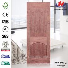 JHK-009-2 Vente chaude Bonale Materail MDF Feuilles en bois de rose Feuille de porte Materail