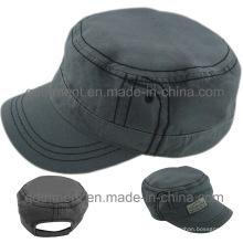 Chapeau de casquette de travail militaire en coton confortable (TMM000489-1)