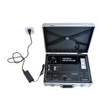 kit de générateur d'énergie solaire portatif de valise pour le système d'énergie domestique léger de TV