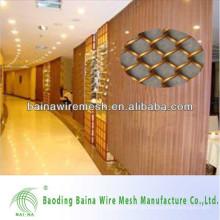 2015 alibaba china Herstellung modischen Metall Mesh Vorhang Dekorative Metall Mesh Vorhang