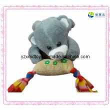 Brinquedo de urso eletrônico de pelúcia