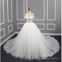 Princess / A Line 2017 Vestido de Novia Real con Appliques