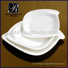 P & T fábrica de porcelana, placas retangulares, placas em conjunto