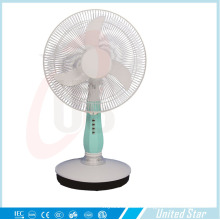 12inch Oscillating Rechargeable Table Electrical DC Fan