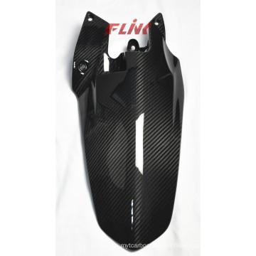 Fibra de carbono Hugger trasero para Ducati Streetfighter