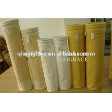 Asfalto Filtro de bolsa de planta Bolsa de filtro de fieltro de Nomex