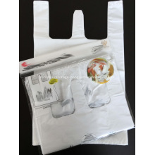 Plastic Carrier Bags With Gusset