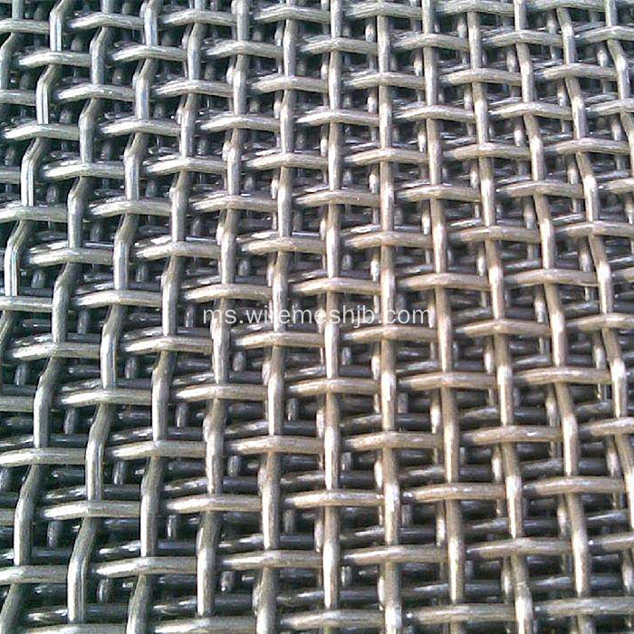 Mesh Wayar Crimped For Quarry Stone
