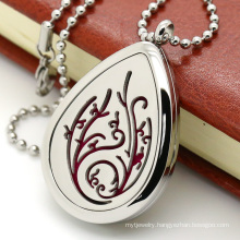 Fashion Customized Hollowed-out Diffuser Perfume Necklace Pendant Locket