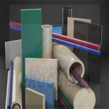PEEK LF Carbon Fiber Graphite PTFE Sheet Block