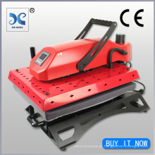 HOTTEST Bottom-Slide out tshirt iron-on máquina de imprensa de calor de transferência