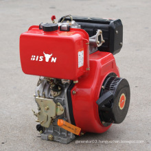 BISON(CHINA)8hp China Alibaba Small Recoil Start AC Sinlge Phase Diesel Engine 8 HP