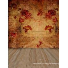 Papel tapiz BJD estampado con configuraciones de fotografía de flores