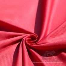 Water & Wind-Resistant Outdoor Sportswear Down Jacket Woven Phantom Plaid & DOT Jacquard 100% Nylon Fabric (N032BB)