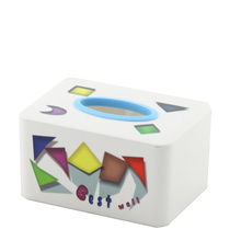 Rectangle Plastic Fashion Tissue Box (FF-5073-2)